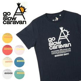 go slow caravan ゴースローキャラバン ブランドロゴTEE 311912 【Tシャツ/コットン/アウトドア/フェス】【メール便・代引不可】