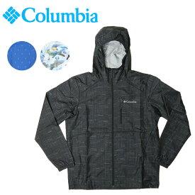 Columbia コロンビア Flash Forward Windbreaker Print フラッシュフォワードウィンドブレーカープリント KE3974 【ウィンドブレーカー/ジャケット/上着/アウトドア】