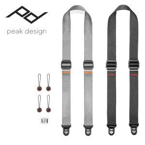★ Peak Design ピークデザイン スライドライト Slide Lite SLL-BK-3/SLL-AS-3 【スリングストラップ/ショルダーストラップ/ネックストラップ/カメラアクセサリー/一眼レフ/カメラ 】