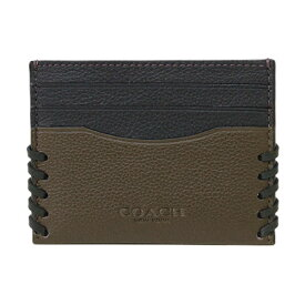 【COACH】 コーチ カードケース ベースボールステッチ オックスブラッド/ブラック F22370 C1L 【YDKG-kd】【RCP】【楽ギフ_包装】