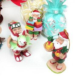 ハワイアンサンタクリスマスオーナメントインテリア/人形/置き物【あす楽対応_関東】【YDKG-kd】【RCP】【楽ギフ_包装】【smtb-kd】【ハワイアン雑貨/ハワイ雑貨】