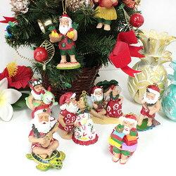 ハワイアンサンタクリスマスオーナメントインテリア/人形/置き物【あす楽対応_関東】【YDKG-kd】【RCP】【楽ギフ_包装】【smtb-kd】【ハワイアン雑貨】