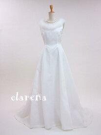 【送料無料】フェークファー付き未使用ウエディングドレス A(clarena37)【未使用品】【洋装】【ドレス】