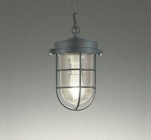 照明器具 おしゃれ マリンランプ インダストリアル ヴィンテージ 軒下用ペンダント LED(電球色) OP252409LD