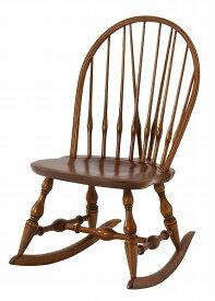 【メーカー直送】 ティンバー ロッキングチェア 椅子 イス 天然木 アンティーク調
