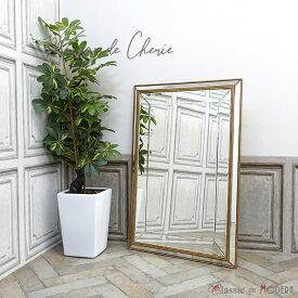 メゾン・ド・シェリー ウォールミラー 鏡 おしゃれ 家具 HNM-001