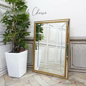 メゾン・ド・シェリー ウォールミラー 鏡 おしゃれ 家具 HNM-005