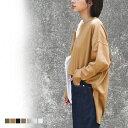 【18日9:59まで!クーポン利用で2999→1499】メール便 送料無料 スリット ビッグTシャツ ビッグシルエット 長袖 ロンT…