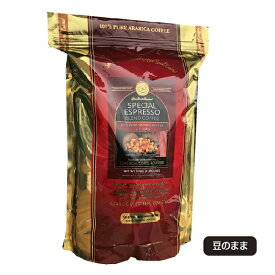 コーヒー豆 スペシャル エスプレッソ ブレンド コーヒー 1kg (2,2lb) [ 豆 のまま ]