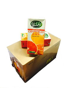 ノンシュガー 無添加 ストレートジュース グレープフルーツ 1000ml 12本 業務用 ワイルド WILD