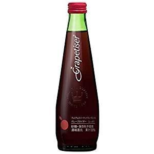グレープタイザーレッド Grapetiser Red 275ml×4 ガラスボトル