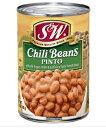 S&W チリビーンズ 缶詰 - Chili Beans 【439g】