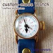 ladycrownセミオーダーメイド腕時計(ブラスボディ)