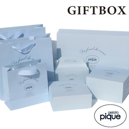 gelato pique ジェラートピケ ギフトボックス GiftBox ギフト プレゼント ジェラート ピケ正規品【room】
