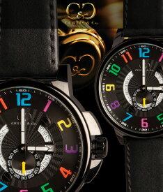 腕時計 メンズ 男性腕時計CURTIS&Co.正規販売店(カーティス,腕時計) BIG Time HAPPY HOUR Black Case/Blackビッグタイムクール [HHBK/CN-B]ガガミラノ GaGa MILANOの次はコレ!クレジット24回払いなら、お支払いが楽々!月々約 8,500円!