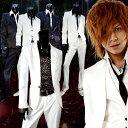 新作 スーツ最新版 光沢 ドレス スーツ ホスト スーツ !ホワイト 白 ブラック 黒 ラメ Luxury Black(ラグジュアリー…
