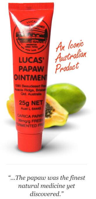 【普通郵便【メール便】送料無料】【並行輸入】 Lucas' Papaw Remedies /ルーカスポーポークリーム 25g