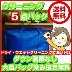 5点東北・関東・中部・関西【送料無料】サイズ(33×55×46)大型バッグ 120cm以下の子供服が3枚で大人1点分(2セットまで)ダウン制限なしシームレス対応染み抜き無料ファーの付属品洗い・保管も無料対応