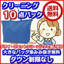 衣類10点クリーニング東北・関東・中部・関西宅配【送料無料】680×500×200大きなバッグ消臭・染み抜き無料120cm以下の子供服が3枚で…