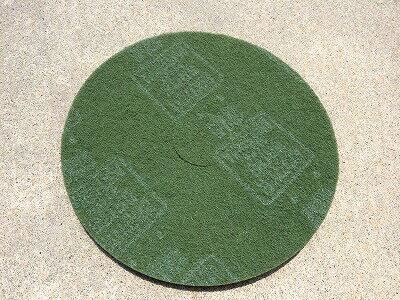 3M国産 フロアパッド 13インチ 緑 【業務用 ポリッシャー用パッド 12インチ】