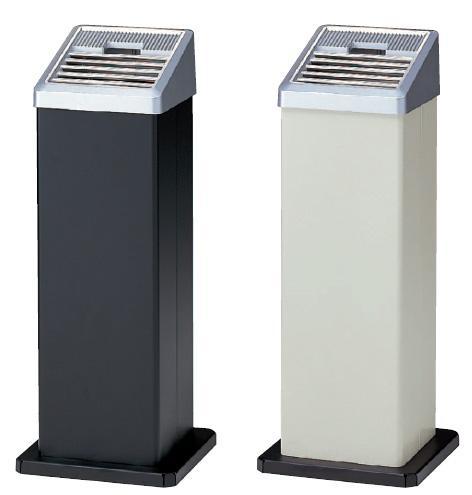 山崎産業 スモーキングAL(AL-106) 黒・白(アイボリー)【業務用 灰皿】