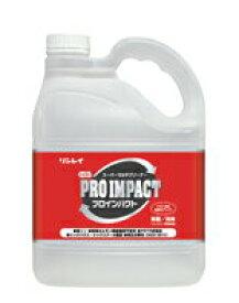 リンレイ NEWプロインパクト(4Lx1本) 【業務用 床用洗剤・多目的洗剤】