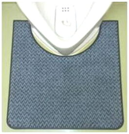 【小便器マット】洗える丈夫な床置き式 男性トイレマット【送料無料 業務用】