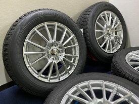 あす楽 新品 スタッドレス 215/60R17 ブリヂストン ブリザック VRX Weds Sport SA−35R ホイール&タイヤセット C−HR エスティマ ハイブリッド 215 60 17