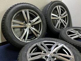 あす楽 新品 スタッドレス 215/55R17 ピレリ アイス アシンメトリコ ICE ASIMMETRICO ROZEST ホイール&タイヤセット エスティマ オデッセイ ヴェゼル ティアナCX−3 レヴォーグ 215 55 17