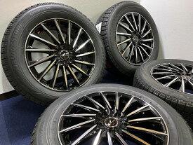 あす楽 新品 スタッドレス 215/60R17 ブリヂストン ブリザック BLIZZAK VRX Weds ウェッズ LEONIS レオニス CH ホイール&タイヤセット 215 60 17 アルファード ヴェルファイア