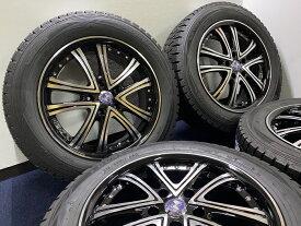 あす楽 新品 スタッドレス 215/60R17 ダンロップ ウィンターマックス Warwic ワーウィック ホイール&タイヤセット アルファード ヴェルファイア C−HR エスティマ ハイブリッド ヤリスクロス エルグランド 215 60 17