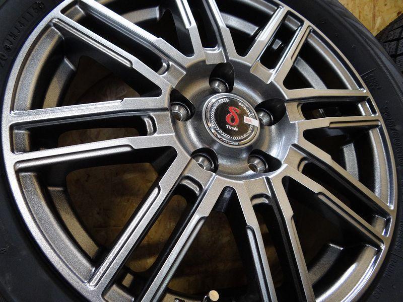 新品 スタッドレス 205/60R16 ブリヂストン ブリザック VRX ホイール&タイヤセット ティラード 205 60 16  在庫有 ノア ヴォクシー エスクァイア ステップワゴン