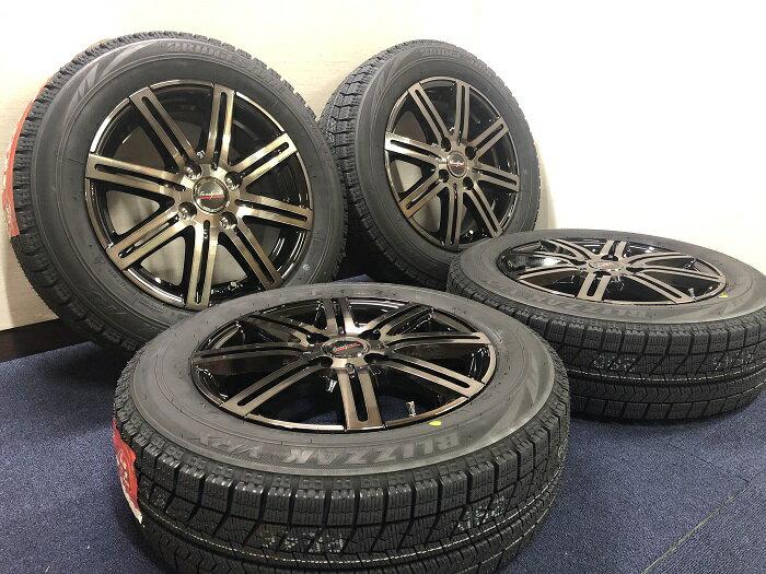 あす楽 新品 スタッドレス 165/65R14 ブリヂストン ブリザック VRX ホイール&タイヤセット ユーロスピード MX02 165 65 14 M700 パッソ ブーン タンク ルーミー ジャスティ トール TANK ROOMY