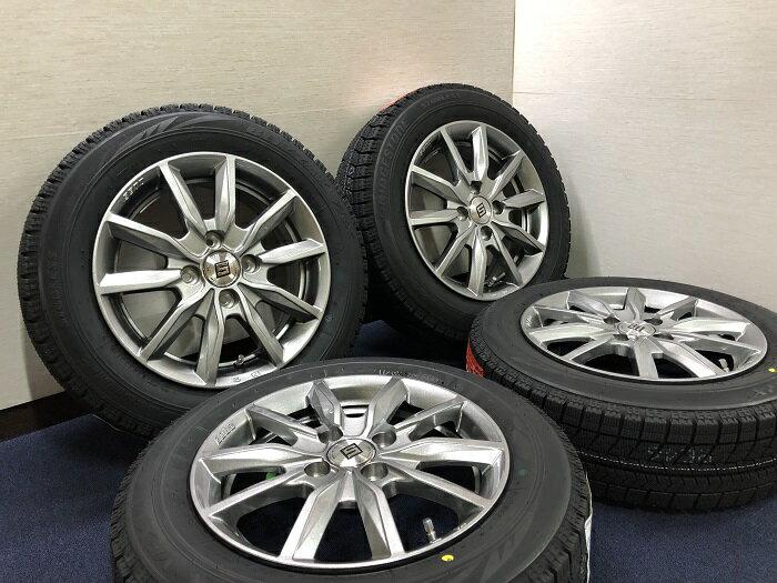 あす楽 新品 スタッドレス 165/65R14 ブリヂストン ブリザック VRX ホイール&タイヤセット SEIN 165 65 14 M700 パッソ ブーン  タンク ルーミー ジャスティ トール
