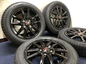 あす楽 新品 スタッドレス 155/65R14 ブリヂストン ブリザック VRX SEIN ブラックエディション 黒 ホイール&タイヤセット 155 65 14 タント エグゼ ミライース ミラココア ウェイク ムーヴ キャンバス モコ N BOX N ONE ワゴンR ラパン 軽 軽自動車