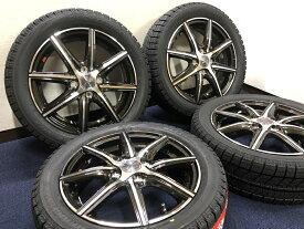 あす楽 新品 スタッドレス 165/55R15 ブリヂストン ブリザック VRX ホイール&タイヤセット SMACK スマック 165 55 15 ウェイク ムーヴ タント N BOX N ONE 軽 軽自動車