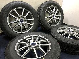 あす楽 新品 スタッドレス 195/65R15 ブリヂストン BLIZZAK ブリザック VRX2 Weds LEONIS NAVIA 01 ホイール&タイヤセット 195 65 15 C25 C26 C27 セレナ ランディ