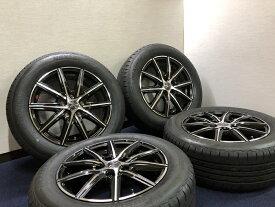 あす楽 新品 ラジアル 205/60R16 ブリヂストン NEXTRY SMACK ホイール&タイヤセット 205 60 16 SAI プリウスアルファ ジューク JUKE ジェイド JADE