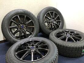 あす楽 新品 スタッドレス 205/60R16 TOYO TIRES トーヨー ウィンタートランパス TX SMACK ホイール&タイヤセット 205 60 16 SAI プリウスアルファ ジューク JUKE ジェイド JADE