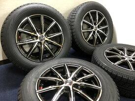新品 スタッドレス 215/60R16 ブリヂストン ブリザック VRX SMACK スマック ホイール&タイヤセット クラウン ハイブリッド カムリ ハイブリッド マークX ティアナ デリカ 215 60 16