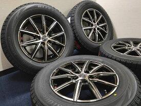 新品 スタッドレス 215/65R16 ブリヂストン ブリザック VRX SMACK スマック ホイール&タイヤセット アルファード ヴェルファイア エルグランド エクストレイル プレサージュ 215 65 16