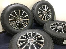 新品 スタッドレス 車検対応 195/80R15 107/105L ブリザック VL1 200系 ハイエース HI−BLOCK TYPE−DMX ホイール&タイヤセット 195 80 15