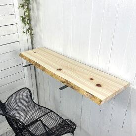 無垢板 棚板 天板 桧 檜 ヒノキ 神棚 奥行 幅1m 約31cm 厚み約3.3cm cl0039