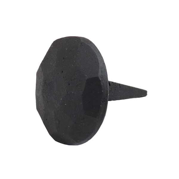 DIYでアレンジ☆飾り釘 ブラック 直径2.5cm【真鍮】【黒】【nail】【金物】【デコレーション】【円形・丸】【du4】【ap025bk】