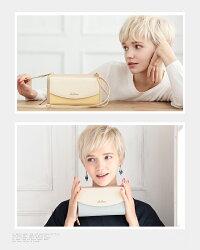 長財布レディースお財布ポシェット大容量バイカラータッセル付き3way財布ショルダーバッグ(6色)【CL-19272】