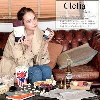 Cleliaのトリコロール柄ショルダーバッグ