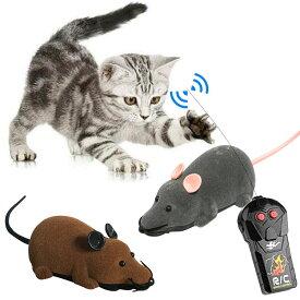 【限定!キャシュレス5%+価格据え置き】猫のおもちゃ ねずみラジコン / ペット用おもちゃ ネコ おもちゃ 玩具 電動マウス 追っかける ネズミ ねこ 遊び 電動おもちゃ