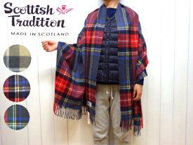 3柄♪ スコティッシュトラディション チェック ウーブン ストール Scottish Tradition