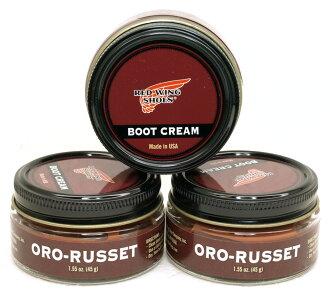 RED WING Boot Cream 97098红翅膀纯正品ORO-RUSSET/红棕色长筒靴奶油
