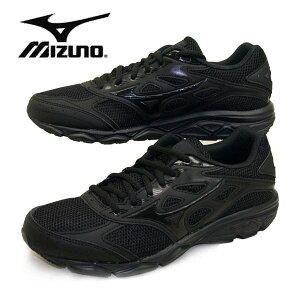 ミズノ MIZUNO MAXIMIZER 21 マキシマイザー 190209 黒/黒 ランニングシューズ ジュニア/レディース/メンズ